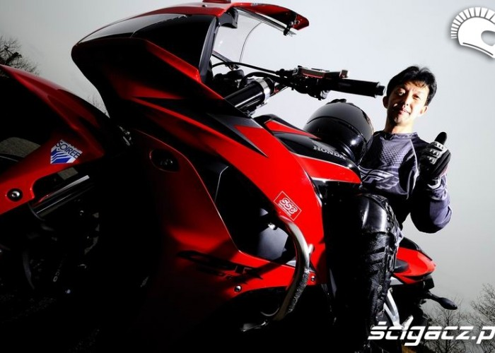 Standardowa konstrukcja motocykla