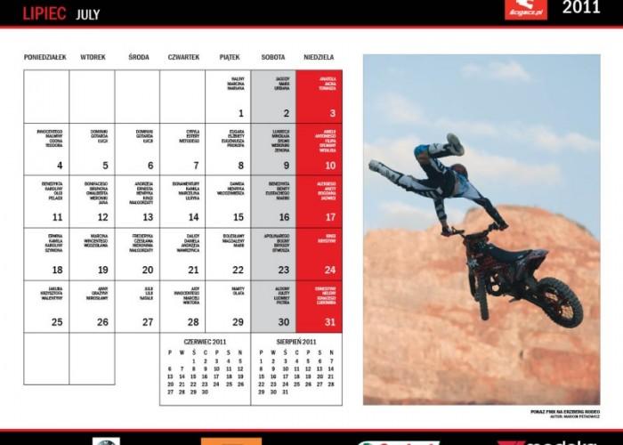 15 Lipiec kalendarz motocyklowy