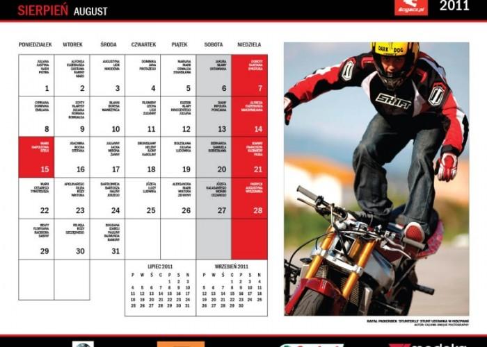 17 Sierpien Rafal Pasierbek kalendarz motocyklowy
