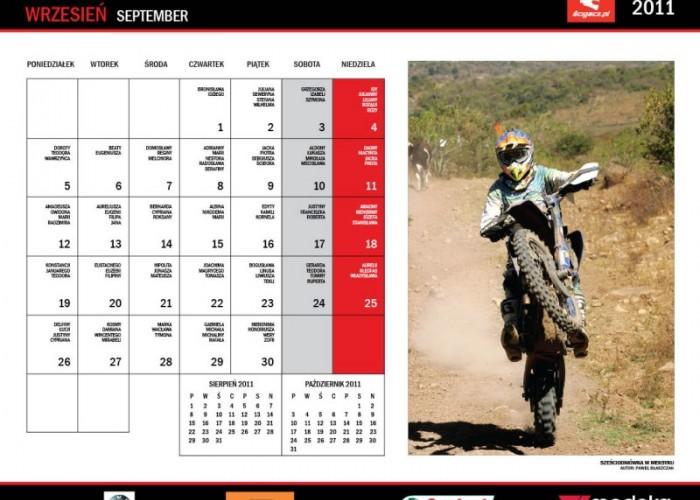 19 Wrzesien Szesciodniowka kalendarz