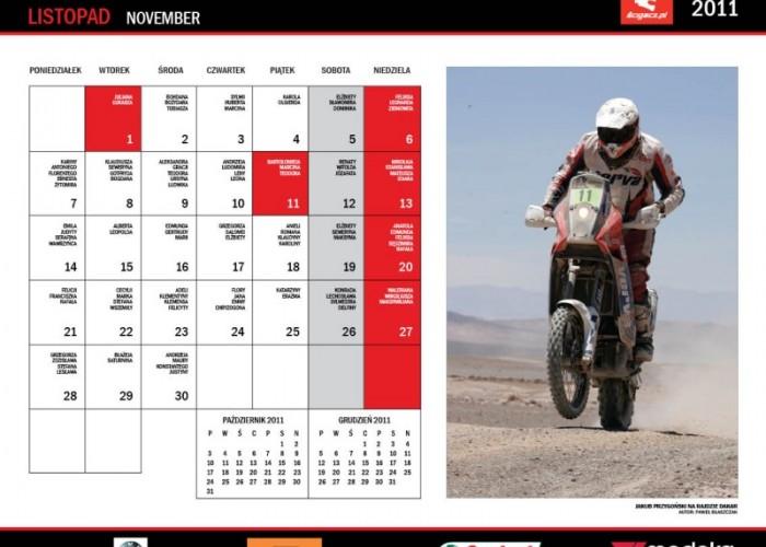 23 Listopad Kuba Przygonski kalendarz