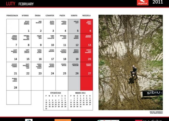 5 Luty kalendarz motocyklowy 2010