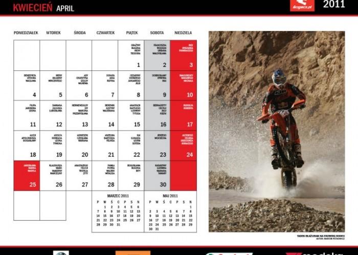 9 Kwiecien kalendarz Blazusiak Tadek