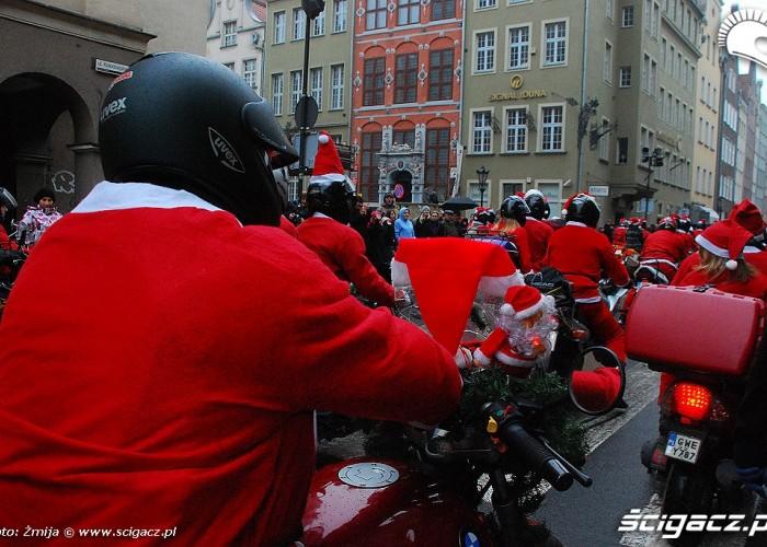Mikolaje na motocyklach Gdansk