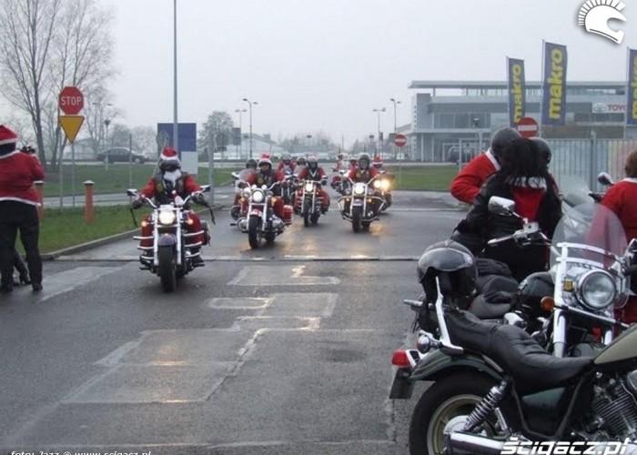 Zbiorka Motomikolajow motomikolaje bydgoszcz 2009