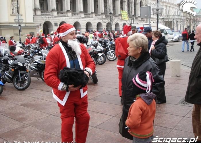 jest to akcja Motomikolaje Warszawa 2009 11