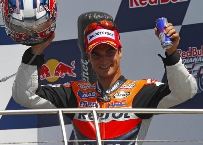 Pedrosa podium