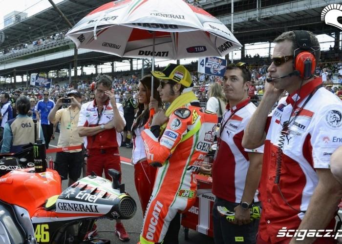 Rossi pod parasolem