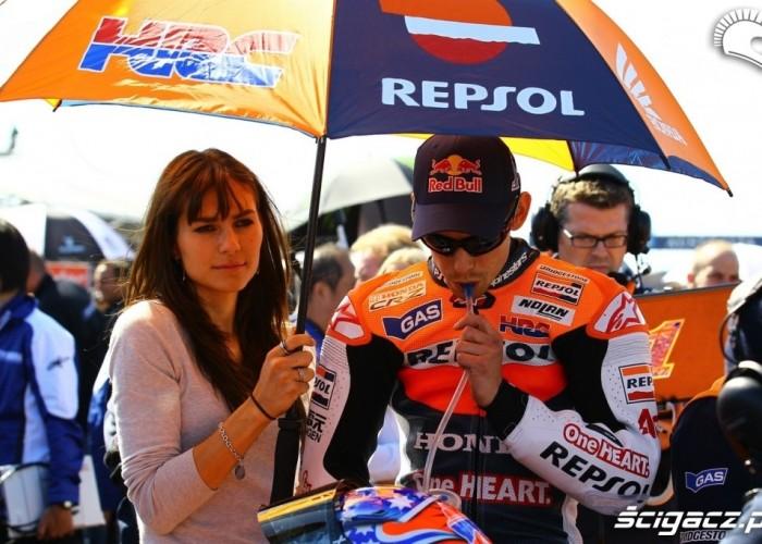 Stoners wife Philip Island Grand Prix