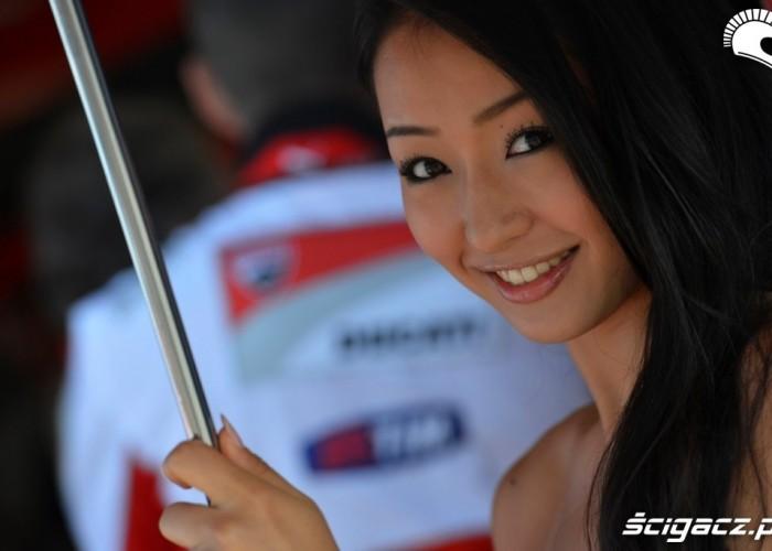 Japonskie dziewczyny Ducati