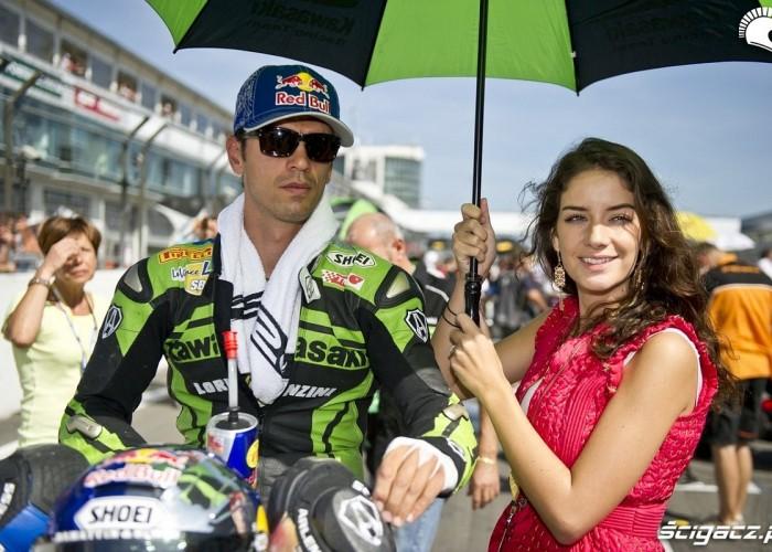Kawasaki Rider parasol