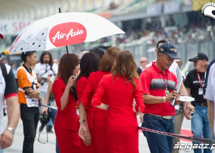 Air Asia Paddock Girls Sepang