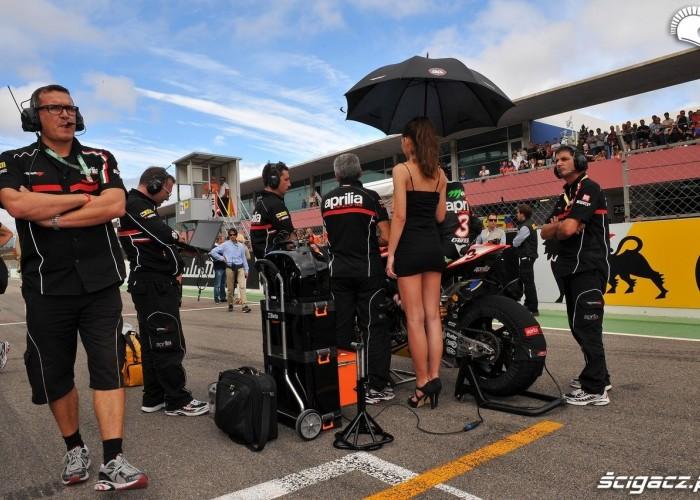 laska z parasolka