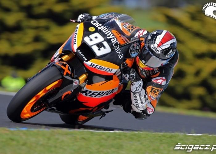 Kwalifikacje Mistrz Swiata Moto 2 Marc Marquez 2012