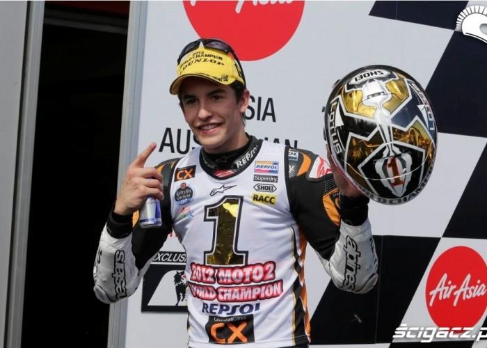 Marc Marquez 2012 numer 1