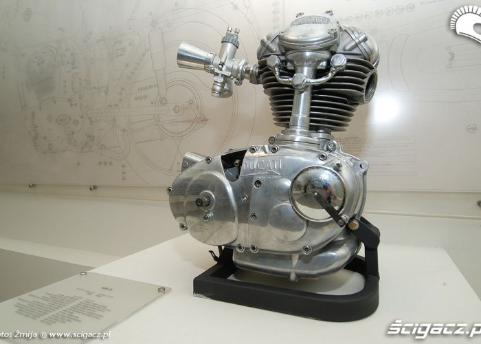 Jednocylindrowy silnik Ducati