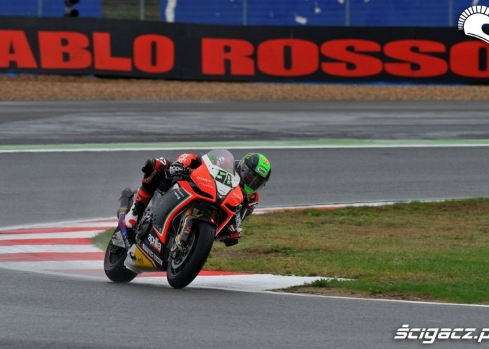Laverty tor Magny Cours