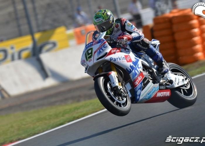 World Superbike Davies Magny Cours guma