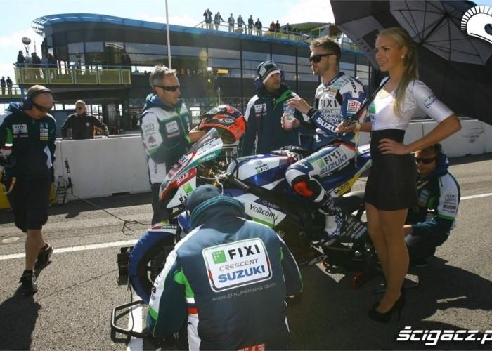 Piekniejsza strona Suzuki World Superbike Assen 2013