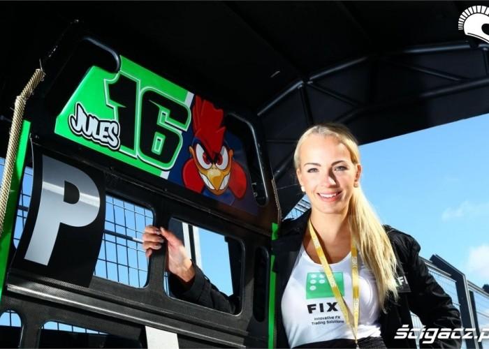 Wsparcie Cluzela World Superbike Assen