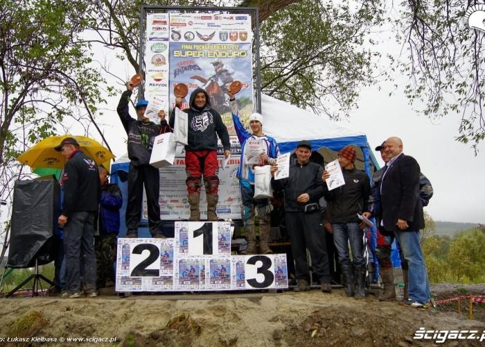 PP SuperEnduro Tymbark podium