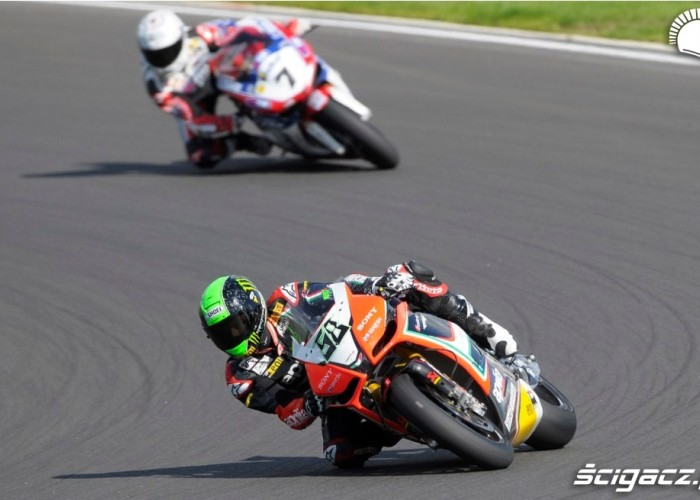 Superbike Race Moscow Raceway 2012 Laverty Checa