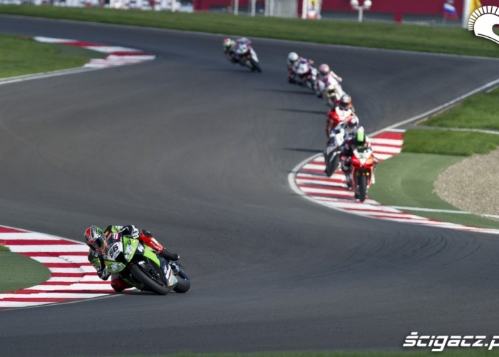 Zmiana kierunku SBK Race Moscow Raceway 2012