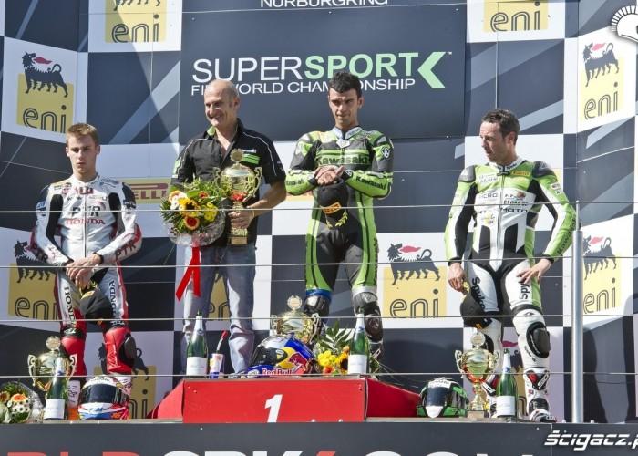 supersport podium