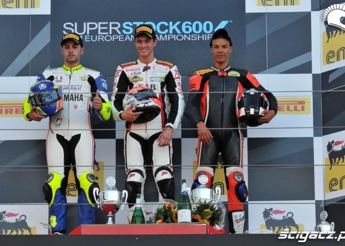 Podium Nurburgring Superstock 600