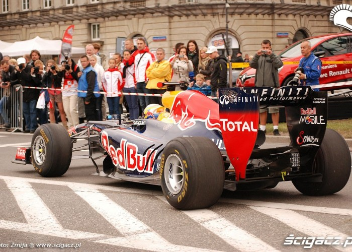 Bolid formuly 1 Red Bull