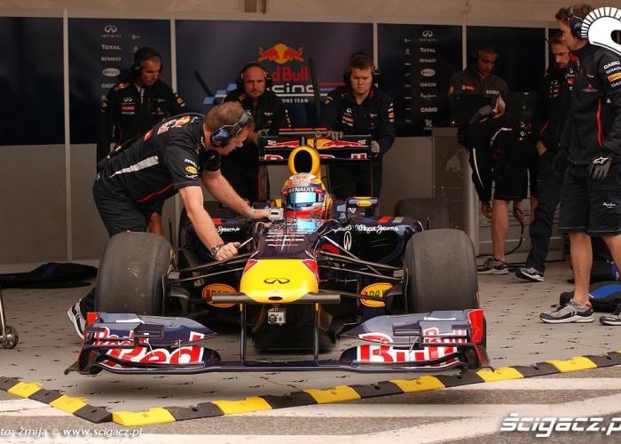 Formula 1 bolid Red Bulla Warszawa