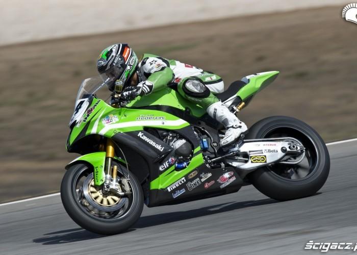 Kawasaki jazda tor