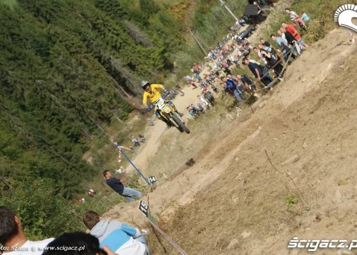 W gore Wielki Podjazd w Ochotnicy Gornej 2012
