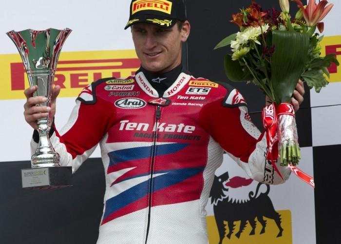 podium supersport silverstone