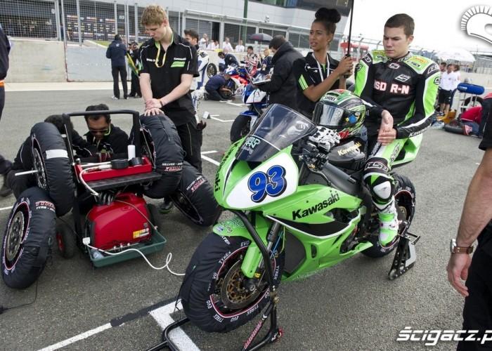 serwis motocykla przed startem