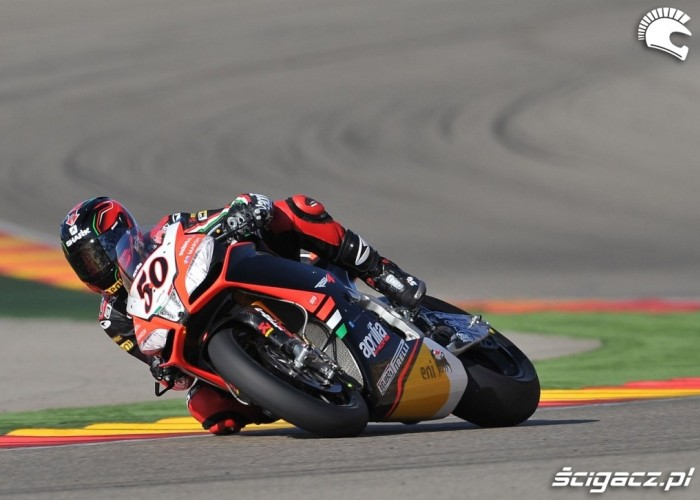 Aprilia World Superbike Aragon
