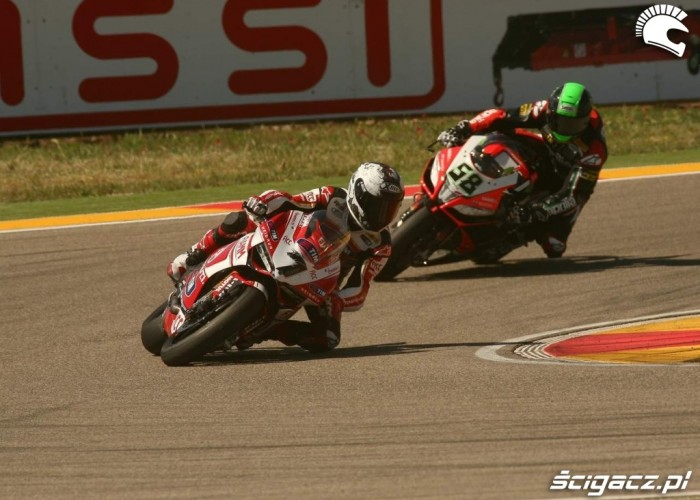Checa Laverty World Superbike Aragon 2013