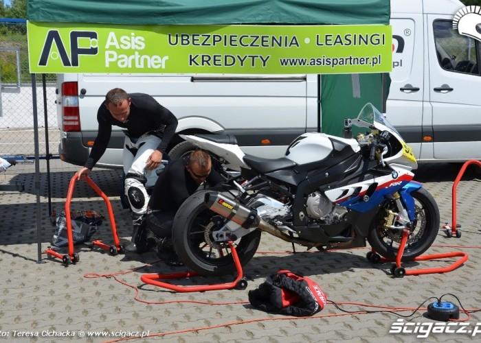 BMW S1000RR Speed Day czerwiec