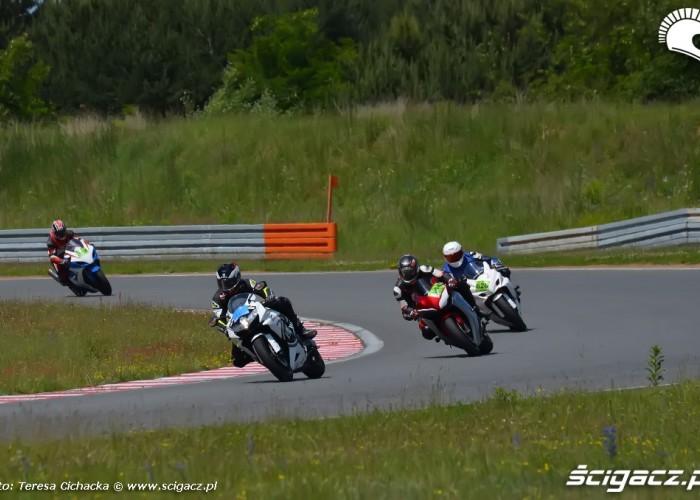 Duza patelnia Trening motocyklowy Speed Day 2013