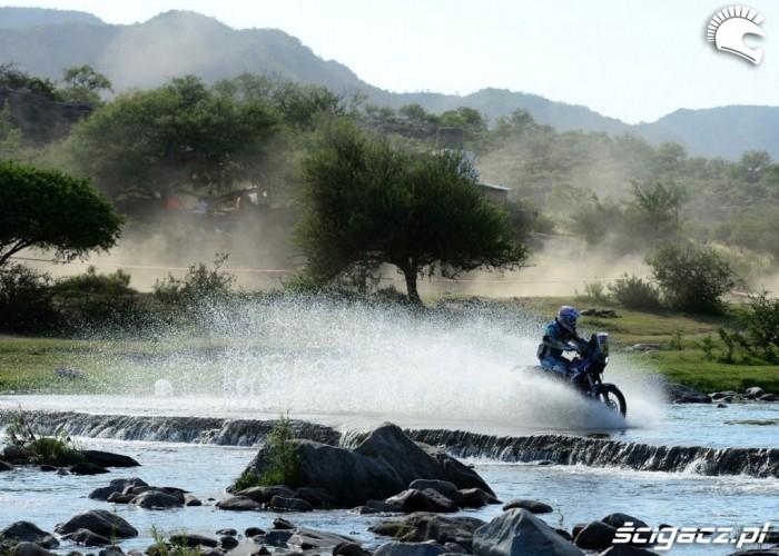 Brodzenie Etap 10 Dakar Rally 2013