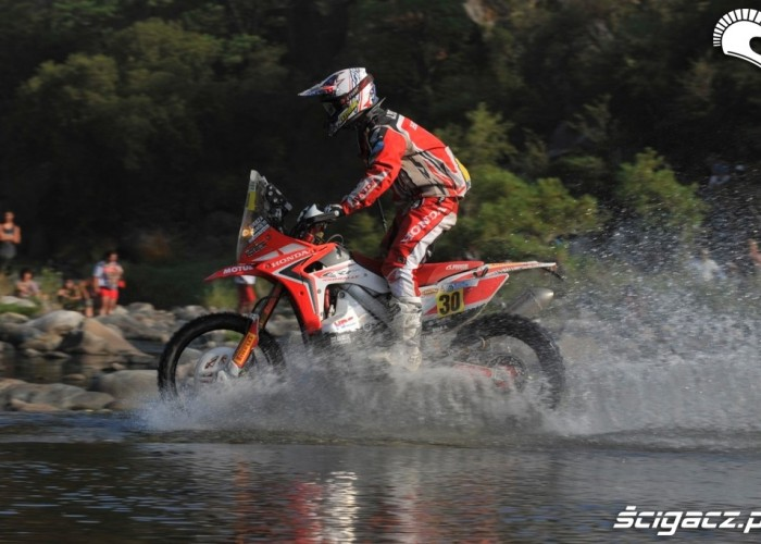 Etap 10 Dakar Rally 2013 CRF450X