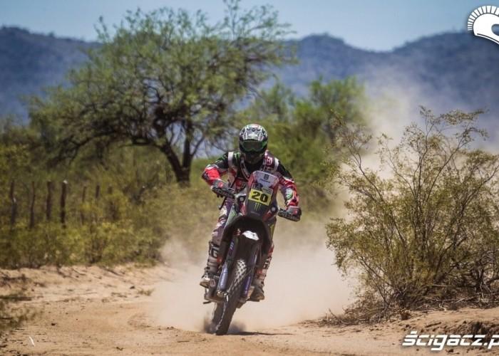 Etap 10 Dakar Rally 2013 na trasie