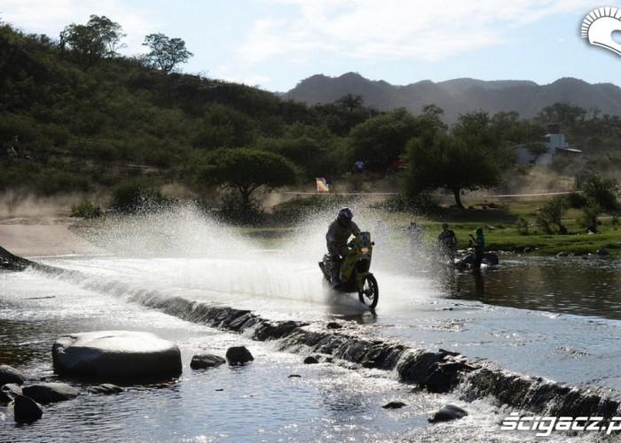 Etap 10 Dakar Rally 2013 rzeka