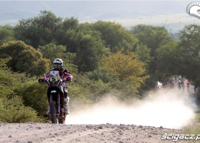 Etap 10 Dakar Rally 2013 szutry