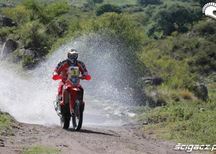 Honda Etap 10 Dakar Rally 2013