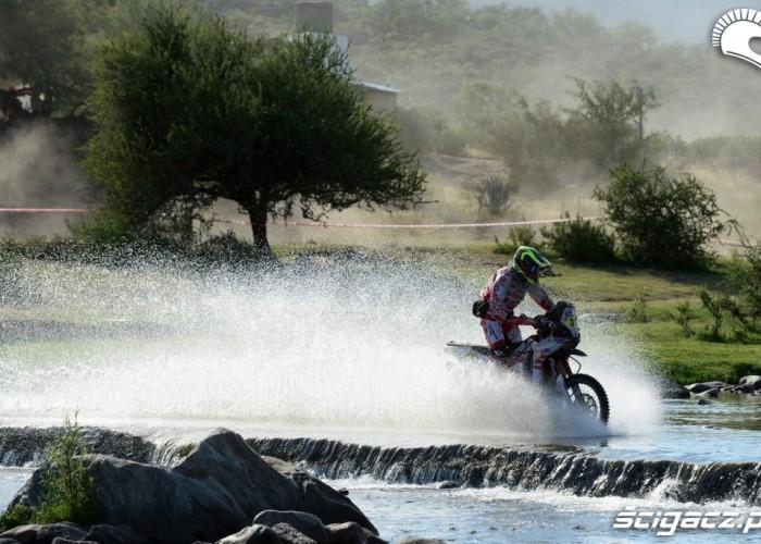 Motocykle Etap 10 Dakar Rally 2013