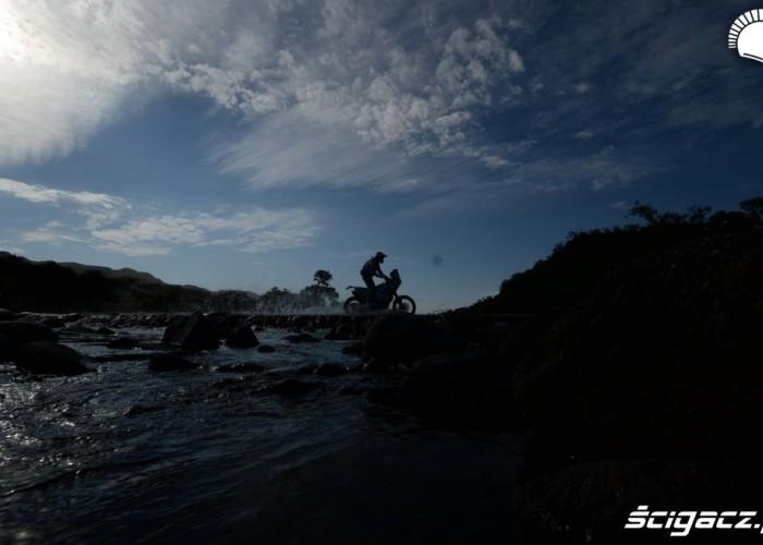 Przeprawa Etap 10 Dakar 2013