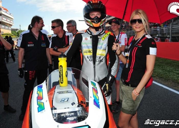 Blond wsparcie Grand Prix Katalonii 2013