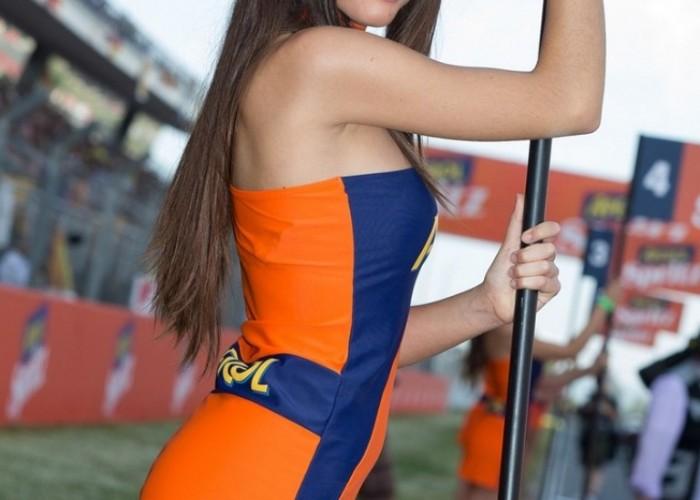GP Katalonii 2013 hostessa
