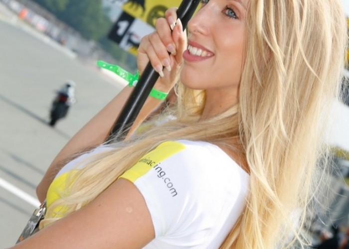 Blondynka Sachsenring 2013